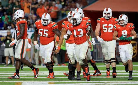 miami hurricanes  switched positions