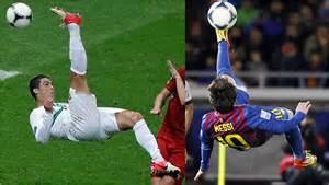 Pics of Messi Doing Bicycle Kick Soccer
