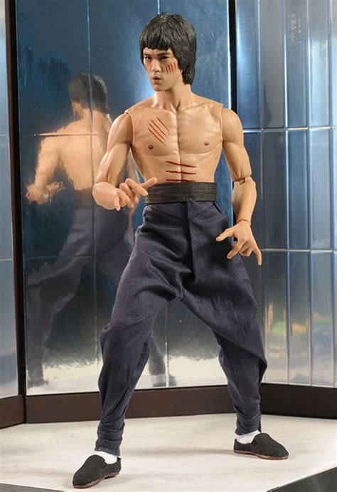 bruce lee dx  deluxe sixth scale action figure