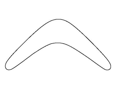 boomerang template printable boomerang template