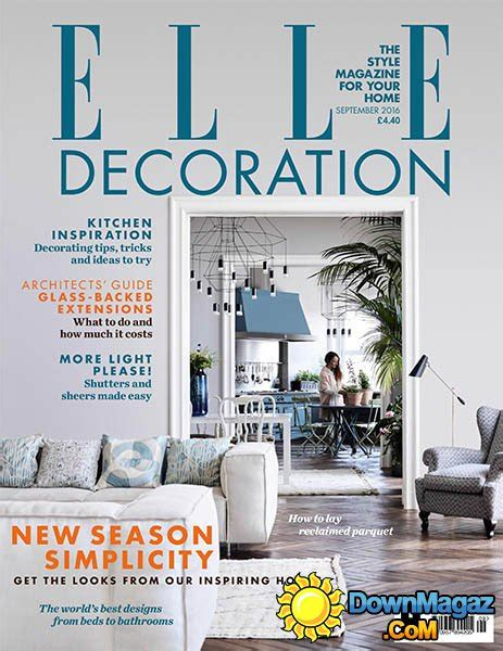 elle decoration uk september 2016 187 download pdf