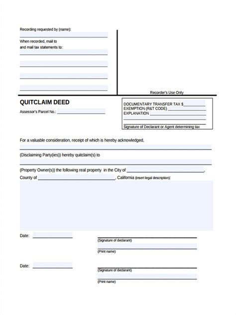 21556 sle warranty deed form can you quit claim a house with a mortgage 28 images