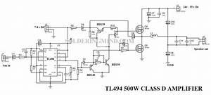 Tl494 Class D Amplifier Circuit