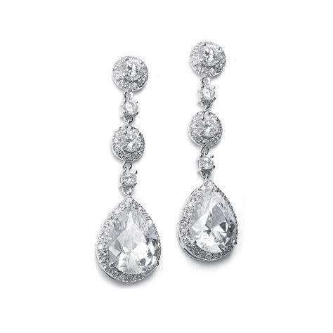 wedding jewelry earrings for brides wardrobelooks com