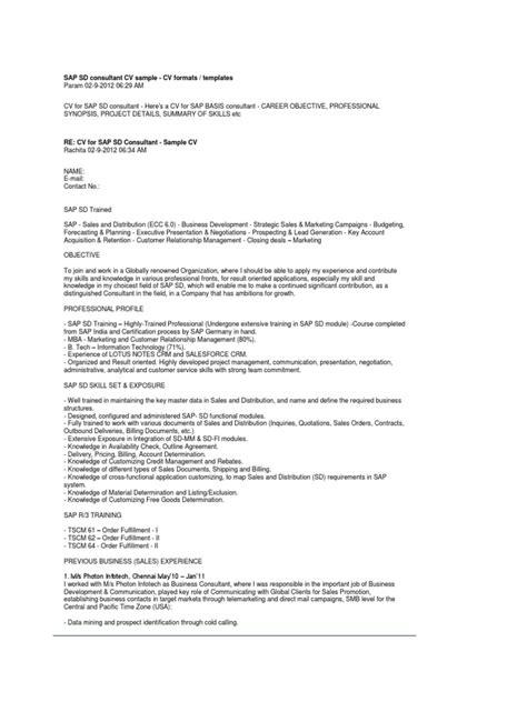 sle resume for unemployed sle resume for oracle pl