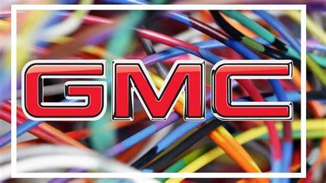 Gmc Sierra Wiring Diagrams Youtube