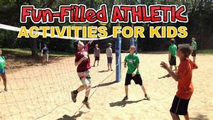 Fun Filled Athletic Activities at Summer Day Camp