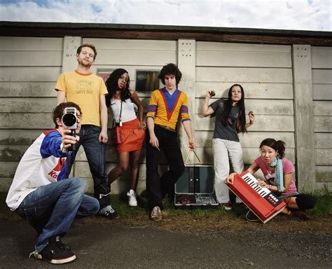The Go! Team Promotional And Press On Sub Pop Records