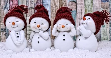 cute snowmen photography abstract background