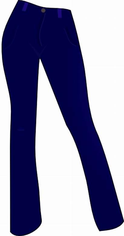 Pants Clipart Jeans Vector Clip Cliparts Trousers