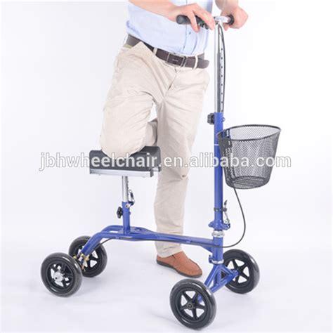 walker electric rollator knee disability elderly equipment steerable balancing mini scooter roller folding alibaba larger