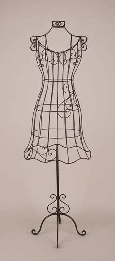 decorative dress forms 1000 images about metal wire dress forms on pinterest