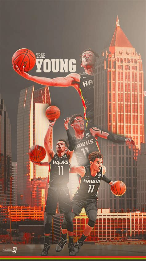 trae young wallpapers wallpaper cave