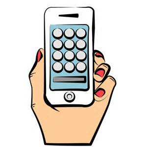 iPhone Phone Clip Art