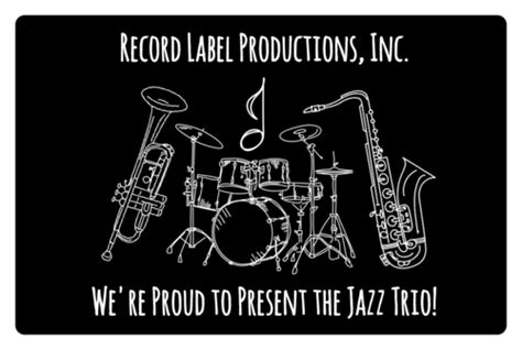 musical instruments rectangular label label templates