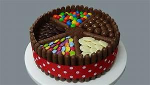 how to make a yummy chocolate cake - YouTube