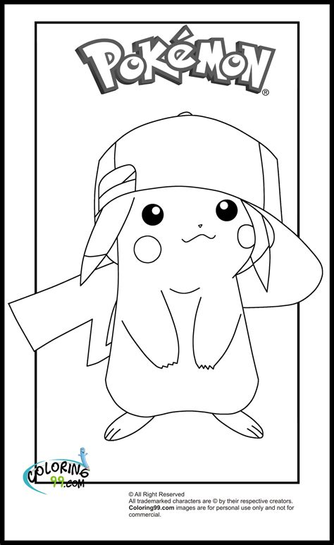 pikachu coloring pages minister coloring