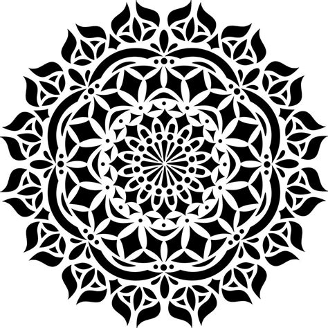 *some of the below products are affiliate links, which means that if you choose to make a purchase from their site. Designer Stencils Asana Mandala Stencil-FS025 - The Home Depot