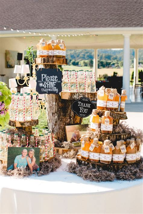 Summer Weddings Moonshine Wedding Favors Lloydhines