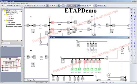 Electrical Power System Analysis Simulation
