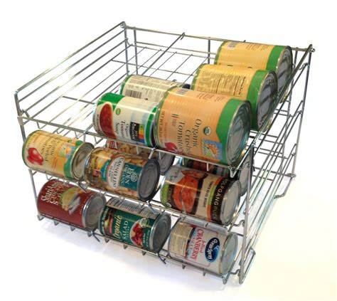 can storage rack 5 best can rack neatly organize your kitchen cabinets