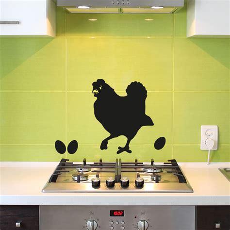 poule cuisine stickers muraux pour la cuisine sticker dcoratif poule