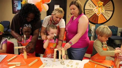 Birthday Party At Home Depot Youtube