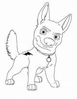 Coloring Pages Bolt Disney Whippet Lightning Characters Dog Character Superdog Draw Printable Clipart Para Bolts Dibujos Colorear Sheets Cartoon Getcolorings sketch template