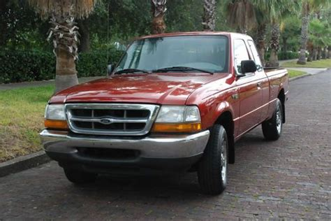 purchase   ford ranger xlt extented cab ffv rust