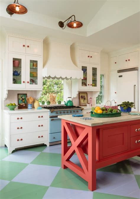 colorful kitchens  inspire