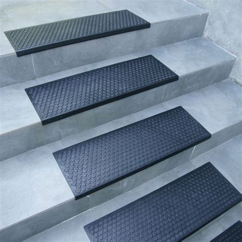 Step Doormat by Coin Grip Rubber Step Mats