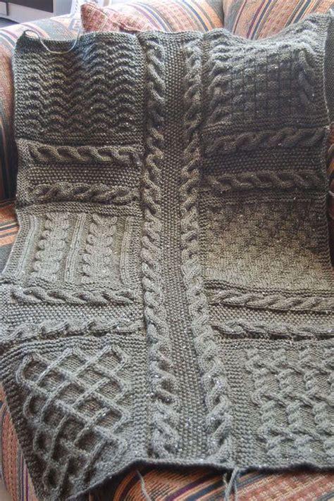mod 232 le tricot plaid carr 233 d 233 cembre diy tricot knit tricot et crochet et