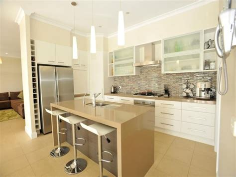 c kitchen ideas classic galley kitchen design using frosted glass