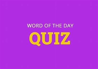 Quiz Word Dictionary Vocabulary Interrupt Week Skip