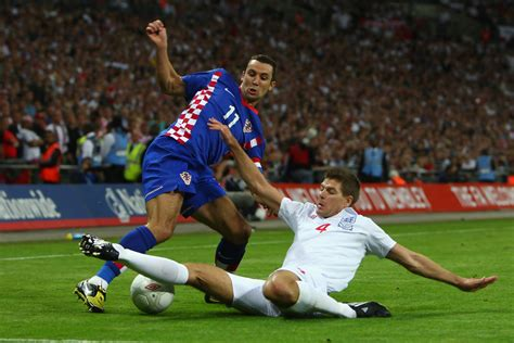 Darijo Srna Photos England Croatia Fifa