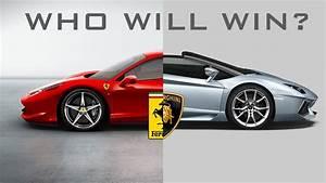 Bugatti Vs Ferrari Vs Lamborghini Drag Race