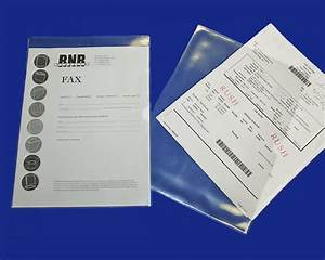 Clear vinyl document holder use as a sheet protector or for Clear document protector