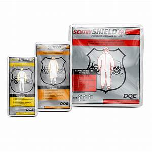 DQE Sentry Shield™ Powdered Substance Protection Kits ...