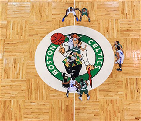 How The Celtics Engrained History Into The New Parquet