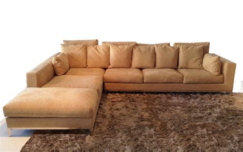 big sofa beige large sectional with chaise lounge and track arms from beige fabric metal