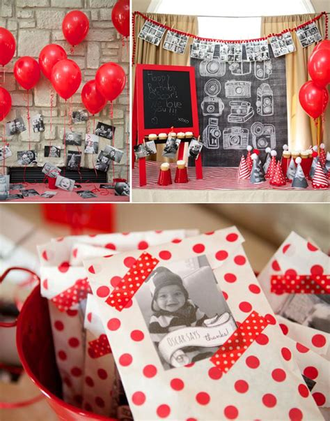 tag theme ideas for 1st birthday party for boy instagram themed party a year in an instant so many