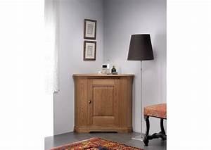 Meuble En Angle : acheter votre meuble d 39 angle en ch ne clair 1 porte chez ~ Edinachiropracticcenter.com Idées de Décoration