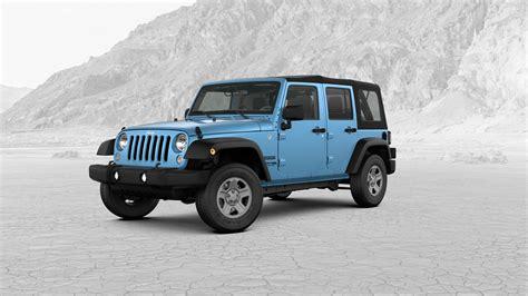 chief jeep color 2018 jeep wrangler jk exterior color choices