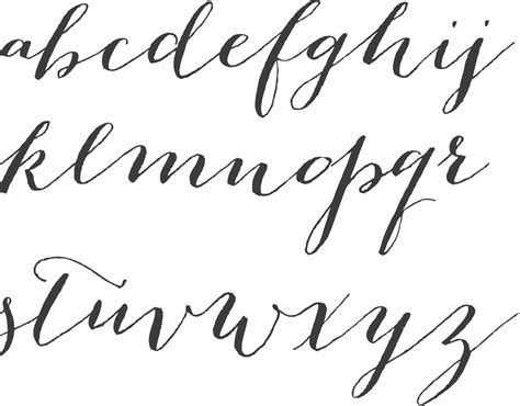 Calligraphy Font by Myfonts Cursive Typefaces