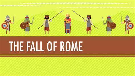 fall   roman empirein   century crash