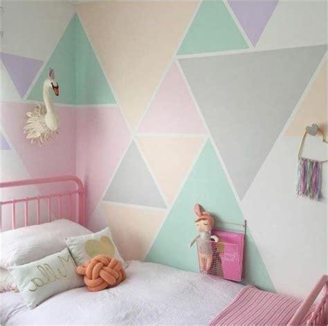 Wandgestaltung Farbe Kinderzimmer Ideen by Die Besten 25 Wandgestaltung Dreiecke Ideen Auf