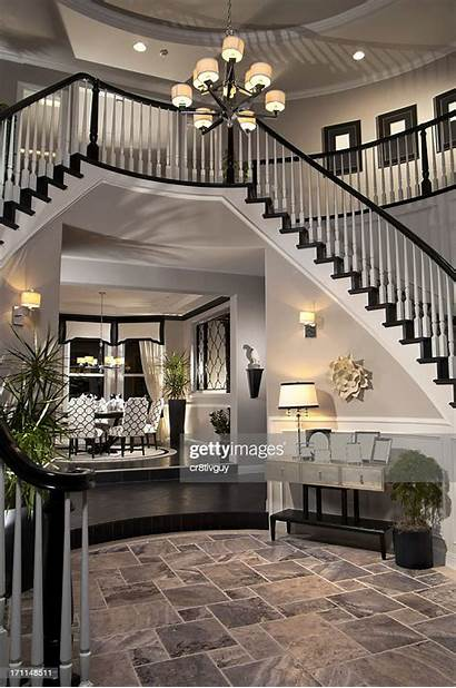 Interior Entry Rustic Luxury Stair Way Architecture