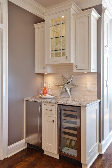 mini kitchen nook   basement  mini fridge bar