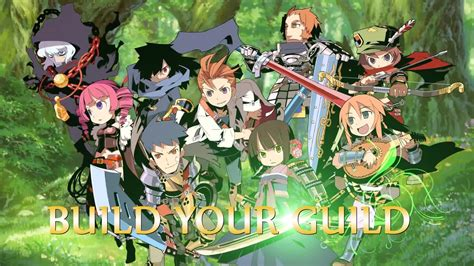 Anime Adventure Games Etrian Odyssey Sekaiju No Meikyuu Dungeon Crawler Rpg