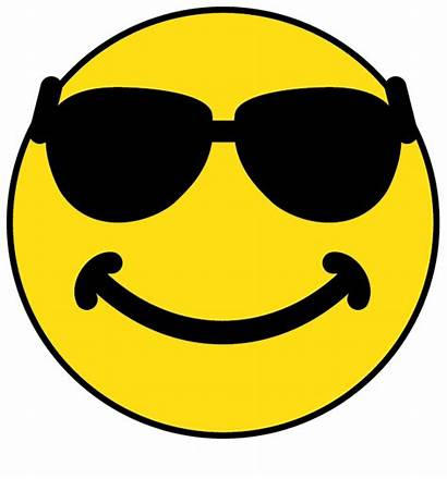 Smiley Face Sunglasses Glasses Clipart Faces Shades
